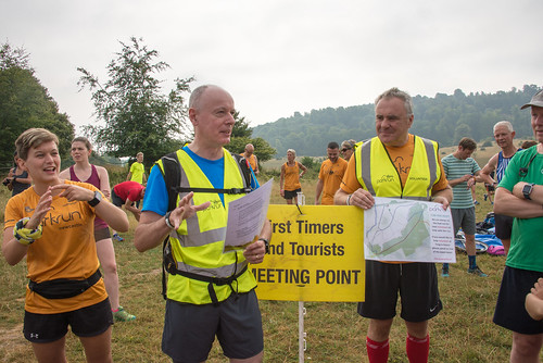 First Timers briefing