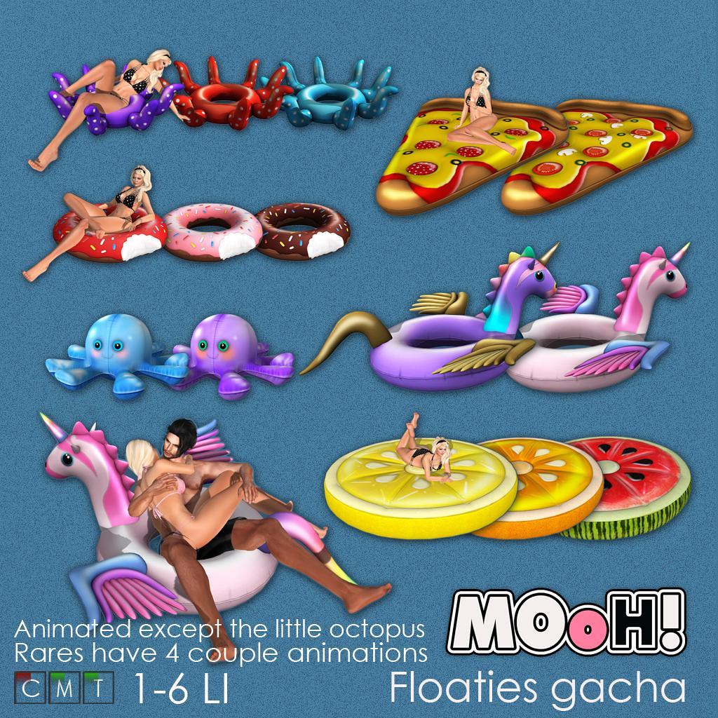 MOoH! Floaties gacha - TeleportHub.com Live!