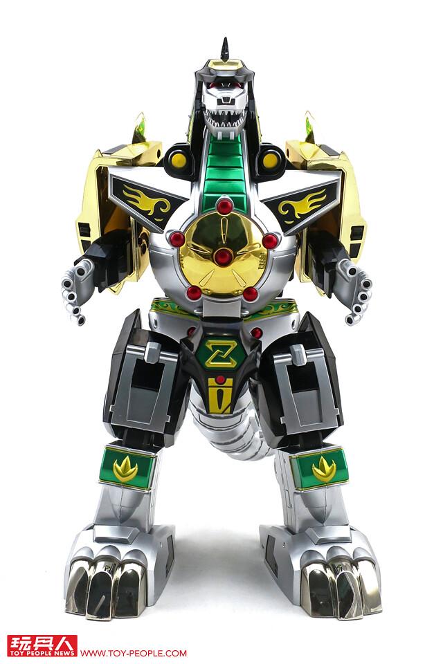 現身吧!超強力電光守護獸!!《恐龍戰隊獸連者》「超合金魂 GX-78 龍皇凱薩(ドラゴンシーザー;異特龍;Dragonzord)」開箱報告