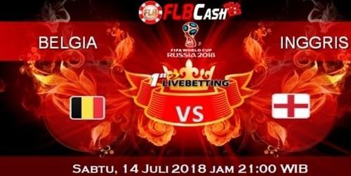 Prediksi Bola Piala Dunia – Belgia vs Inggris, hari Sabtu, 14 Juli 2018