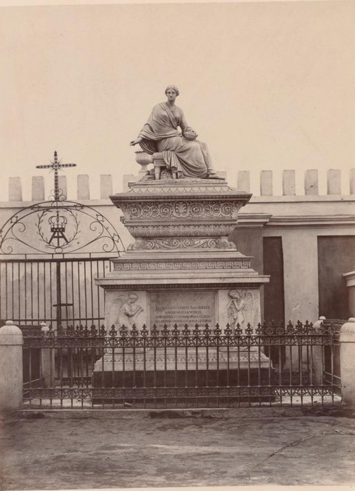 Лима. Гробница и памятник Висенте Рокафуэрте, президента Эквадора