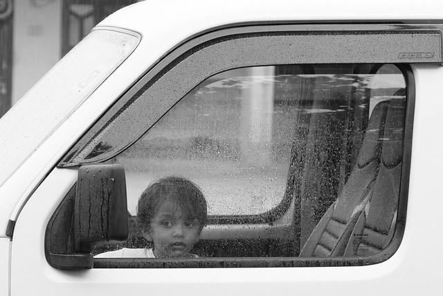 Curious kid