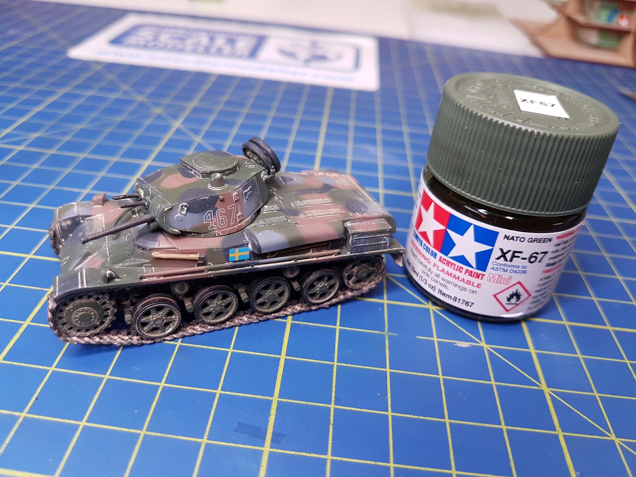 IBG Models 1/72 Stridsvagn m/40L Swedish Light Tank - Sida 2 42737330574_f15d184449_k