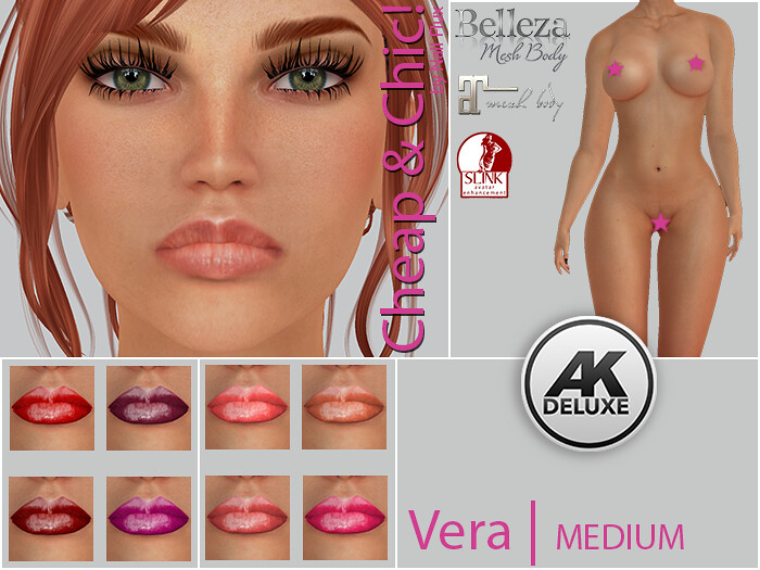 Cheap & Chic! Vera-MEDIUM Skin applier for [AK Deluxe]