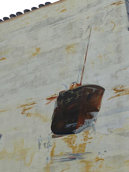 fresque bateau