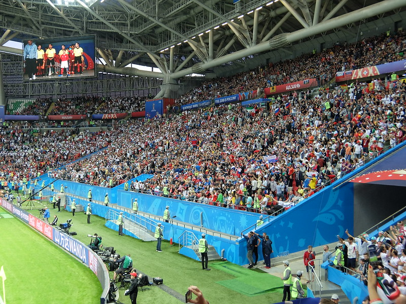 Чемпионат мира 2018 - Казань Арена - Трибуна за воротами