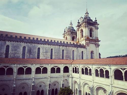 Monasterio de #Alcobaça. #leiria #portugal #phonephoto