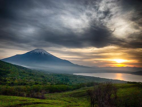 Fuji sunset viewing