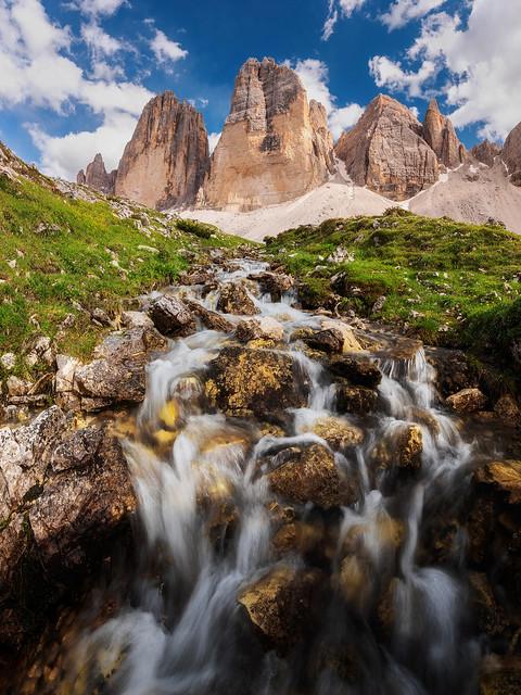 Tre Cime di Lavaredo, Nikon D810A, AF-S Zoom-Nikkor 14-24mm f/2.8G ED