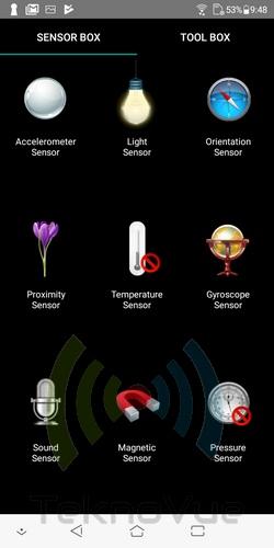 ASUS Zenfone Live L1 - Sensor Box