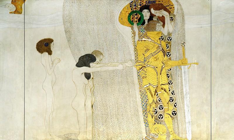 Бетховенський фриз - Страждання людства, 1902