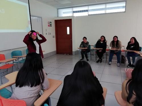 BECARIOS PARTICIPAN DE DIVERSAS ACTIVIDADES PROMOVIDAS  POR NUESTRA FACULTAD