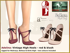 Bliensen - Adelina - red + blush