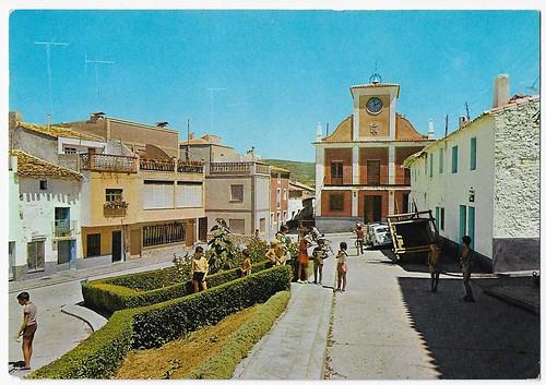 Talayuelas(Cuenca) : Plaza de Cuenca.