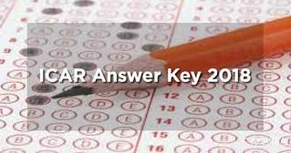 ICAR Answer Key