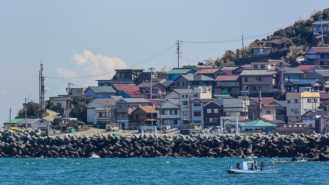 神島, Nikon 1 J4, 1 NIKKOR VR 70-300mm f/4.5-5.6