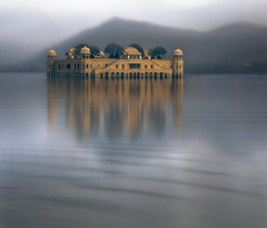 Jal Mahal ... the palace on water ..