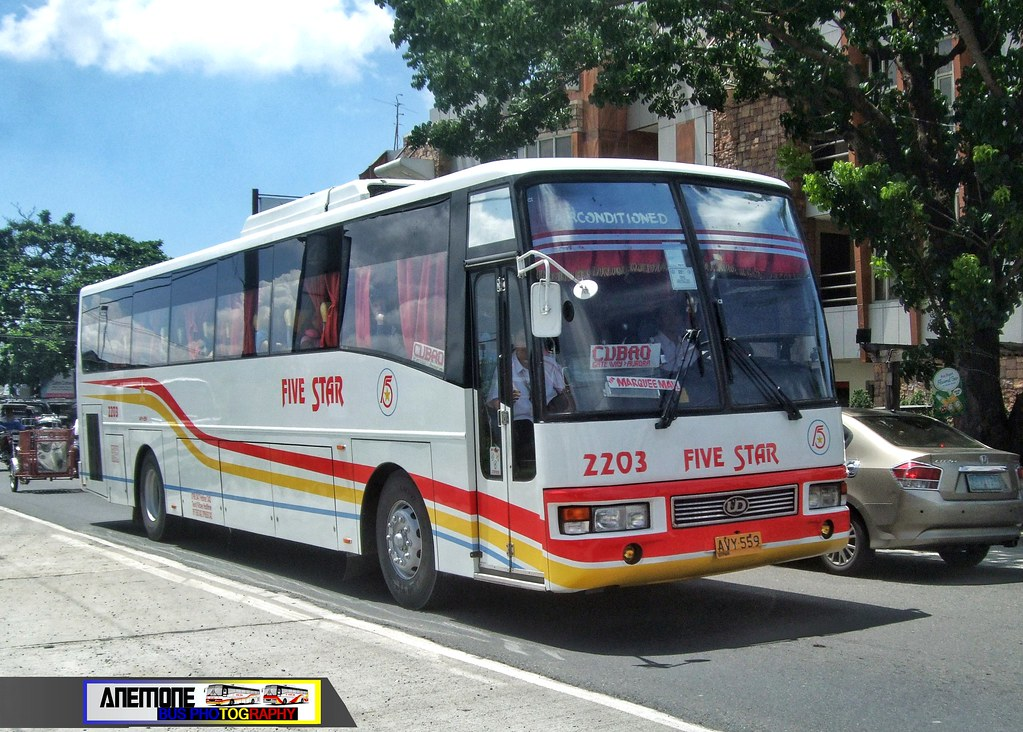 Five Star Bus 2203 Bolinao S Pride Company Flickr