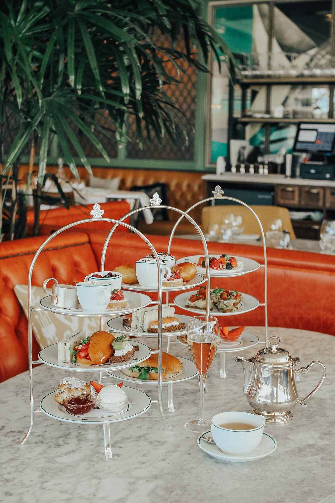 The Ivy Afternoon Tea Lifestyle Blogger Review Edinburgh The Little Things