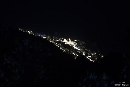 Sentiero degli Dei di notte