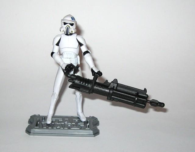 arf trooper star wars the clone wars cw18 blue black packaging basic action figures 2010 hasbro 2n