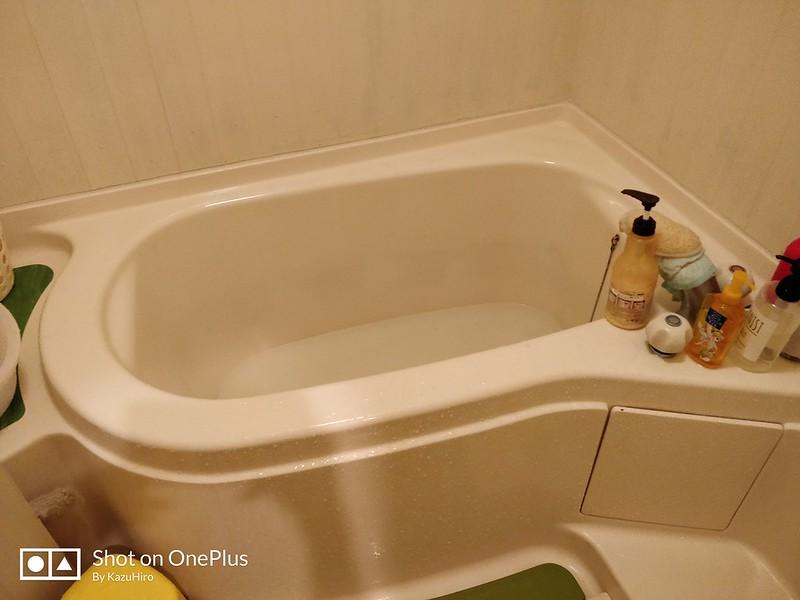 シャワーに必要なお湯の量 (1)