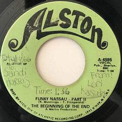 THE BEGINNING OF THE END:FUNKY NASSAU(LABEL SIDE-B)