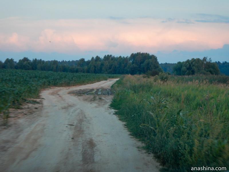 Полевая дорога, Михалево
