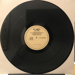 RAY BARRETTO:LA CUNA(RECORD SIDE-B)