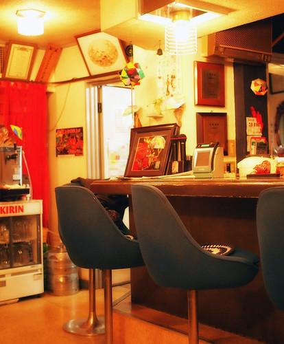 伊勢市・食事と喫茶寿内装