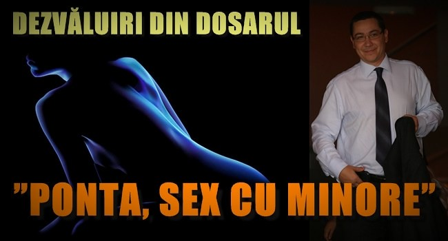 Ponta, sex cu minore