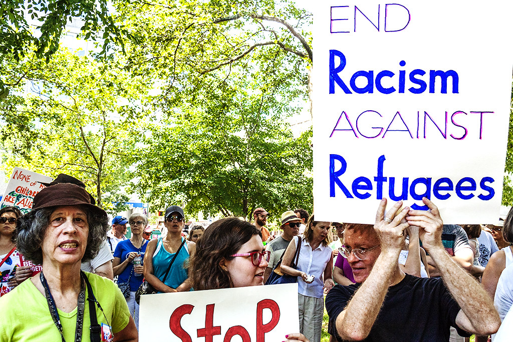 END Racism AGAINST Refugees--Logan Circle