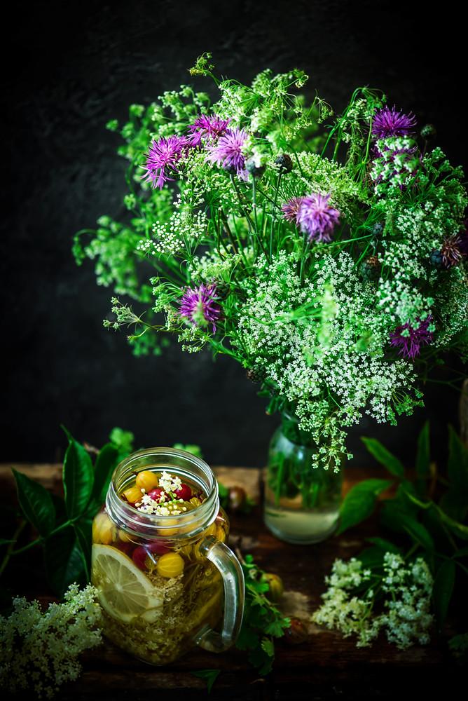 Gooseberry and eldeflower  vodka.5