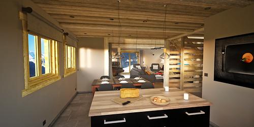 6_HomeMade_Architecture_Chalet_Louise_Le_Grand_Bornand_intérieur_Cuisi