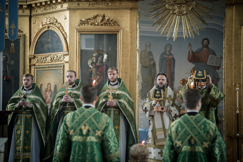 10 июля 2018, Литургия в день памяти прп. Амвросия Оптинского / 10 July 2018, Divine Liturgy in the remembrance day of the St. Ambrose of Optina