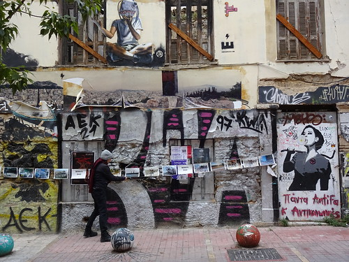 Create Free Spaces * - Athens : ExarchiA : Crisis, Art and Resistance *