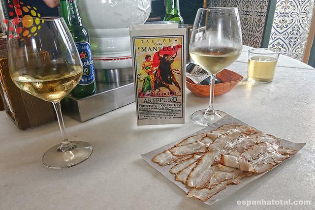 bebidas típicas de Madri: vinho