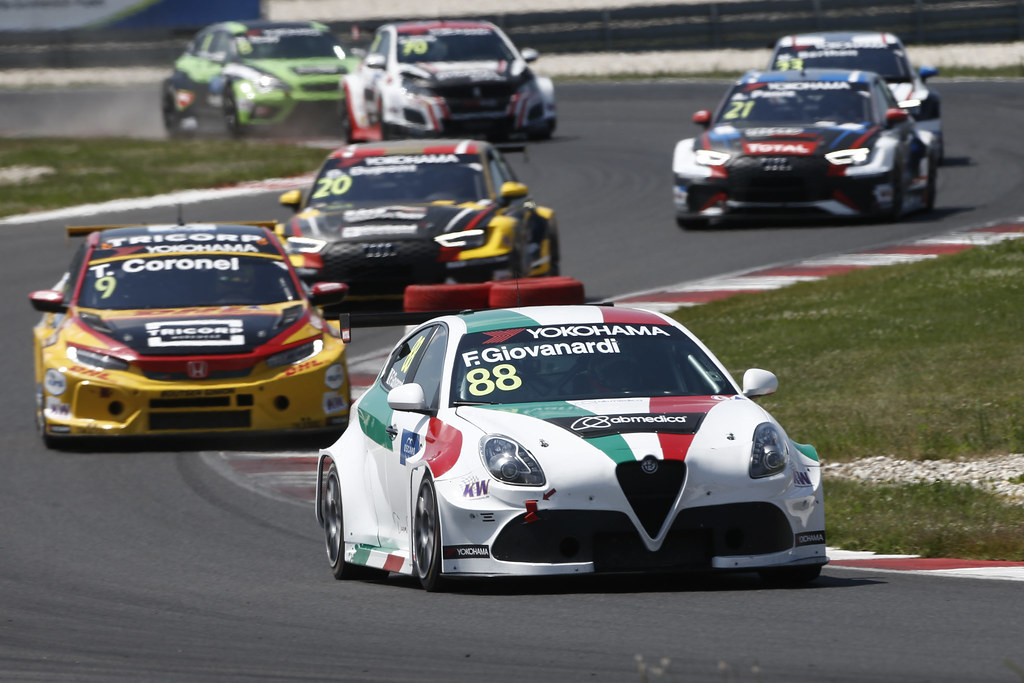 88 GIOVANARDI Fabrizio, (ita), Alfa Romeo Giulietta TCR team Mulsanne, action during the 2018 FIA WTCR World Touring Car cup race of Slovakia at Slovakia Ring, from july 13 to 15 - Photo François Flamand / DPPI.