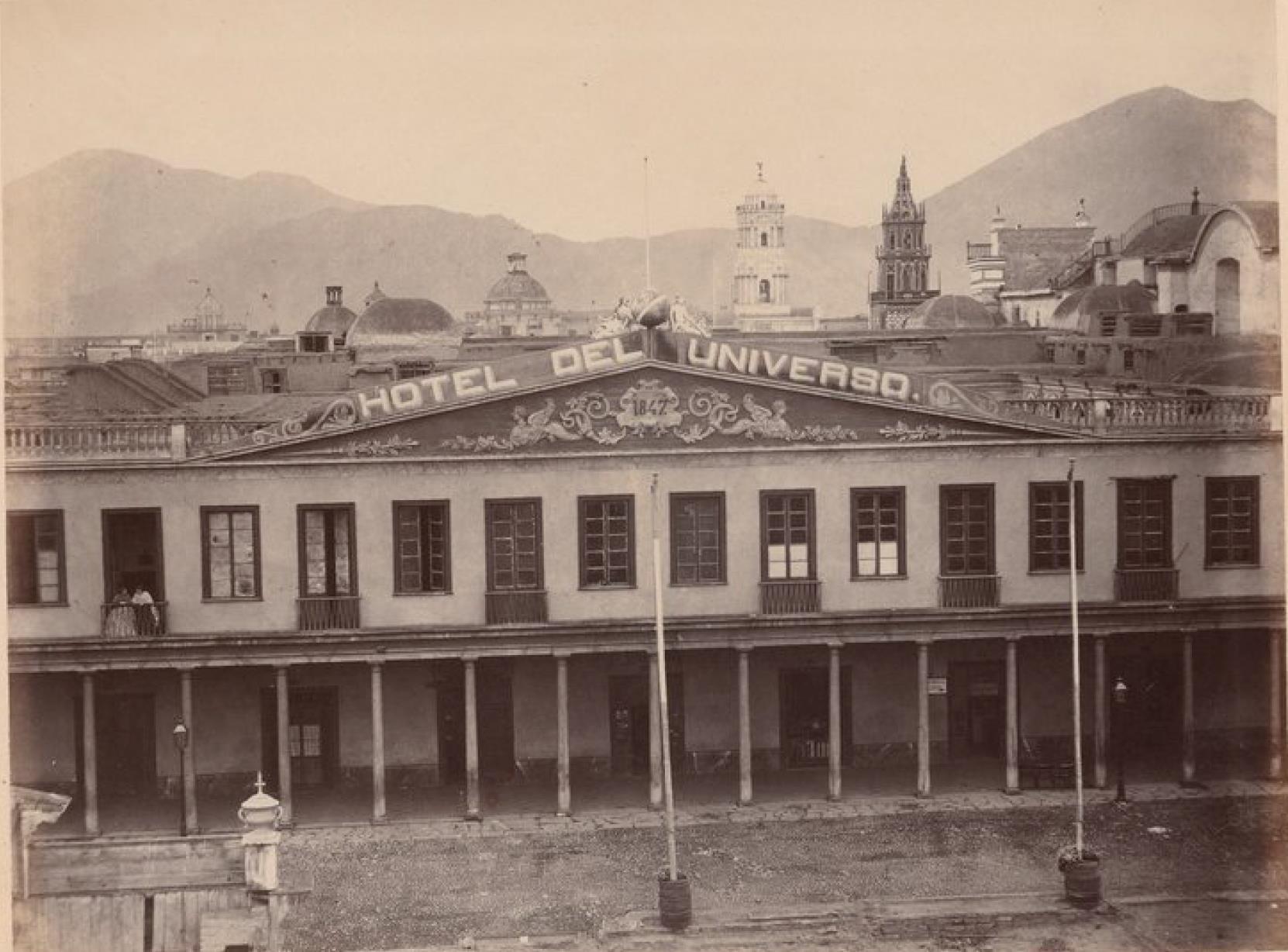 Лима. Отель Универсал