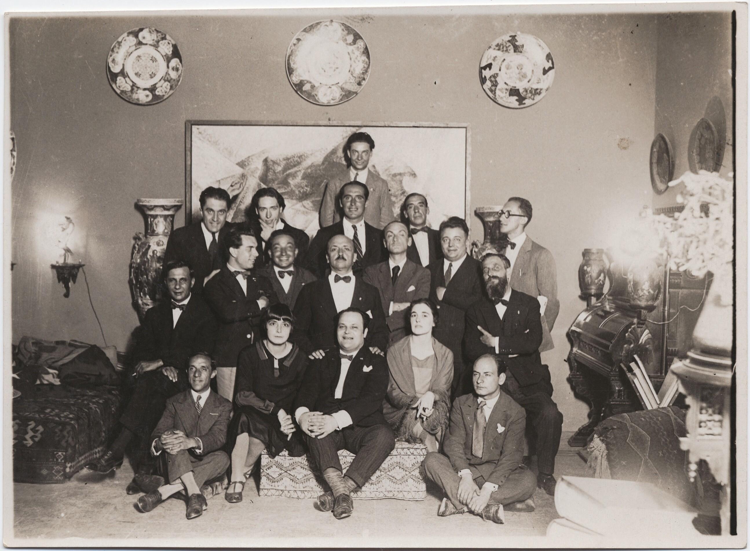 1930-е. Рим. Маринетти, Фолгоре, Прамполини, Деперо