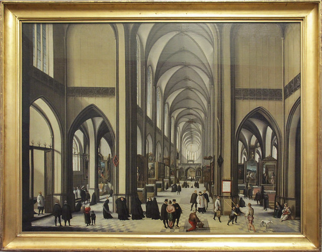 Interior of a Medieval Church, Hendric van Steenwijck d.A., c.1585