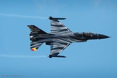 General Dynamics F-16MLU Fighting Falcon - Belgian Air Force