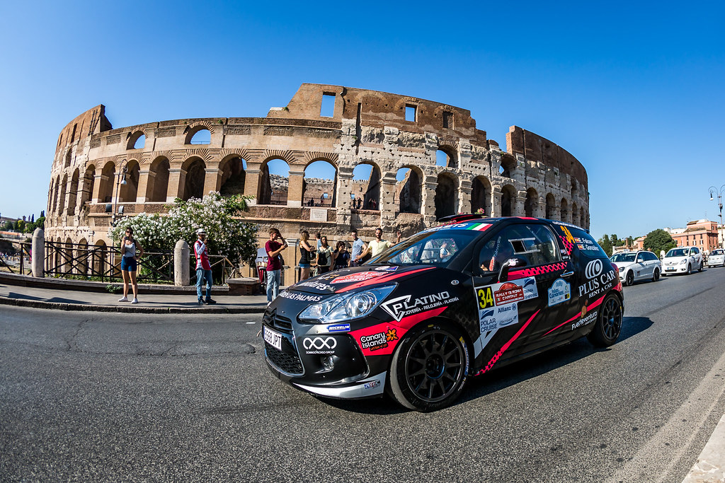 34 FALCON Emma (esp), GONZALEZEdouardo (esp), Citroen DS3, action during the 2018 European Rally Championship ERC Rally di Roma Capitale,  from july 20 to 22 , at Fiuggi, Italia - Photo Thomas Fenetre / DPPI