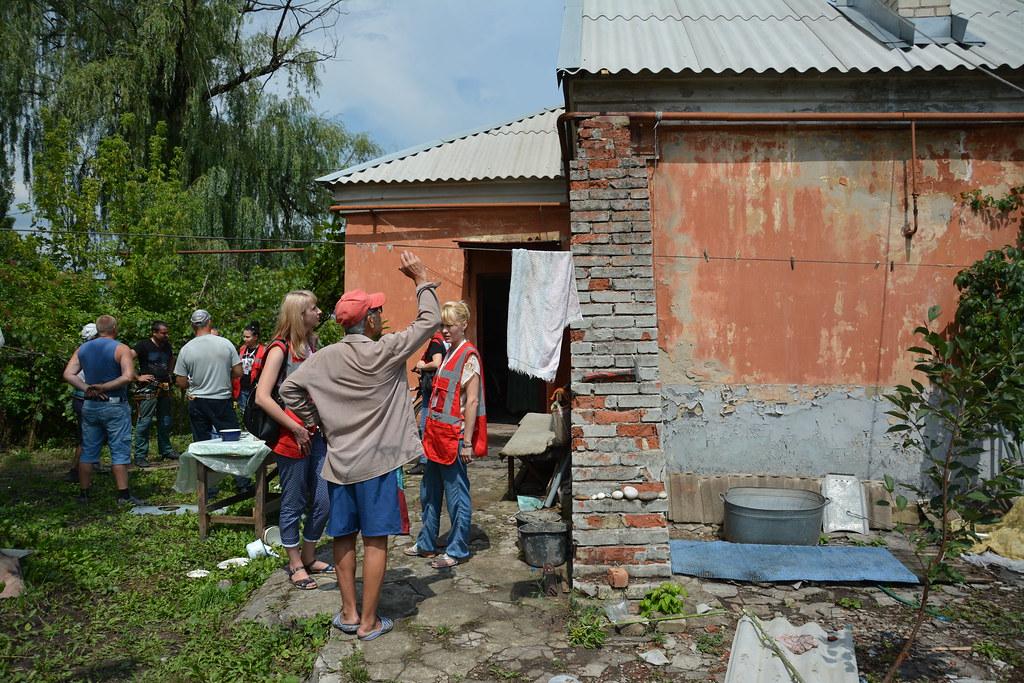 Візит у Донецьку і Луганську області