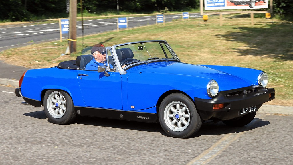 1975 MG Midget LUP 391P | 'Classics at the Clubhouse' Sandfo… | Flickr