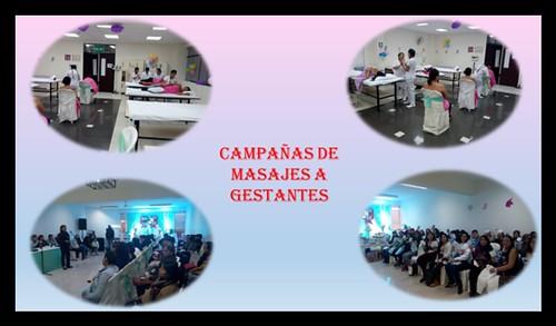 CAMPAÑA DE MASAJES DIRIGIDA A GESTANTES EN LA FACULTAD DE OBSTETRICIA Y ENFERMERIA