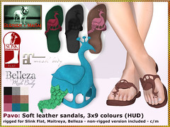 Bliensen - Pavo - Sandals
