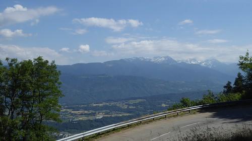 Col du Frene to Beaufort through the Combe de Bauges