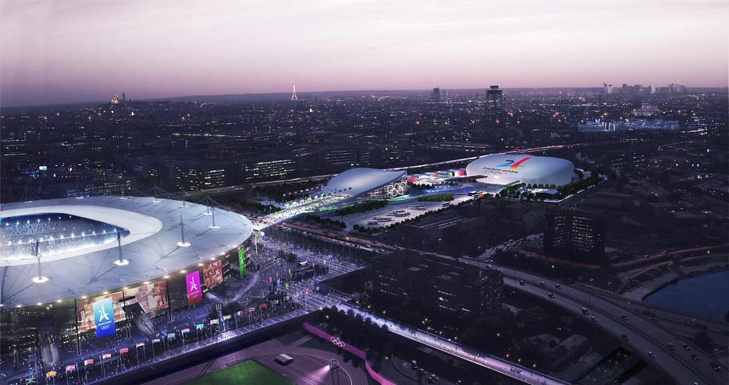 Les sites de Paris 2024 sur le territoire