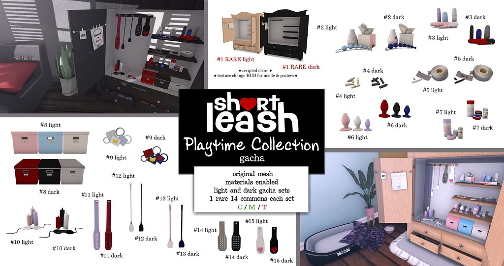.:Short Leash:. Playtime Collection Gacha Set exclusively for XXX Event - TeleportHub.com Live!